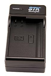 STK EN-EL15 Charger for Nikon D7100, D750, D7000, D7200, D810, D610, D800, D600, D800e, D810a, D500, 1 v1 Cameras, MH-25