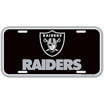 Amazon.com  NFL Oakland Raiders License Plate 9d446f9053