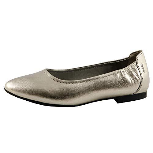 suede Mujer Shoes Marc Aurelia Champagner Gris Para Bailarinas 00855 Speechio w4gZgPq