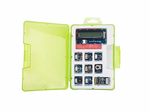 In ZIYUN Grove Starter kit,Grove Starter kit for Arduino&Genuino 101,Grove- Button,Grove - Sound Sensor v1.2,Grove - Touch Sensor,Grove - LED v1.3,Grove - Buzzer,Grove Base Shield v2 (Grove Starter Kit For Arduino Genuino 101)