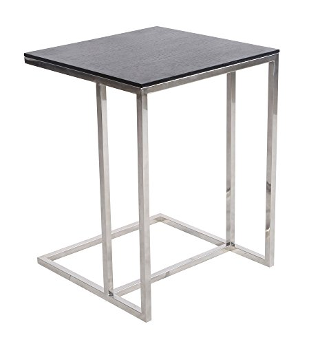 - Emorden Furniture Rodolfo Dordoni Leger Side Nesting Table (Square)(2 Sizes). 18mm Thick MDF Wood Square Table Top & Superior Grade Stainless Steel, Resistance to Chipping, Corrosion & Rust
