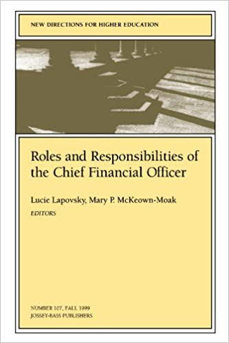 Chief Financial Officer Job Description | Roles And Responsibilities Of The Chief Financial Officer New