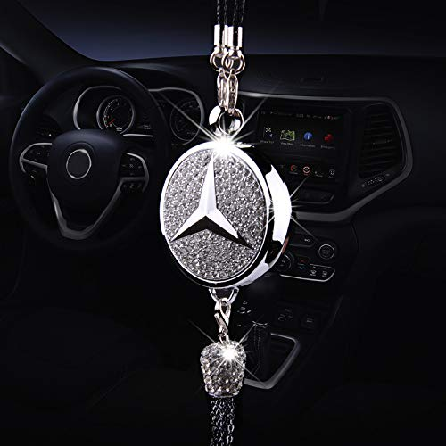 Auto sport Car Ornaments Exquisite Diamond Mickey Perfume Car Air Refreshing (Mercedes Benz) (Best Mercedes Benz Sports Car)