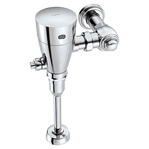 (Moen 8315 M-Power 3/4-Inch Urinal Battery Powered Exposed Sensor-Operated Electronic Flush Valve .5 gpf, Chrome)