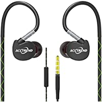 Acctrend H4 Sports In-Ear Headphones with Microphone for smart phones