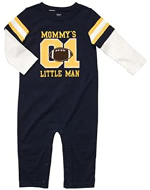 Carter's Baby-boys Mommy's Little Man Coverall Dress