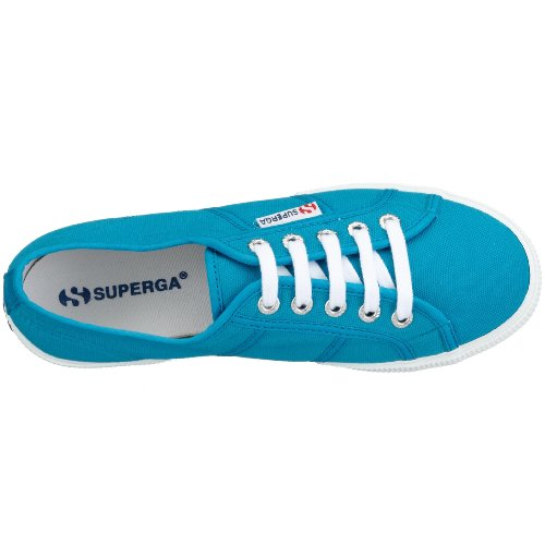 Caribe Blue C52 Sneakers Superga 2950 unisex Turchese Cotu xq0vgX0Y