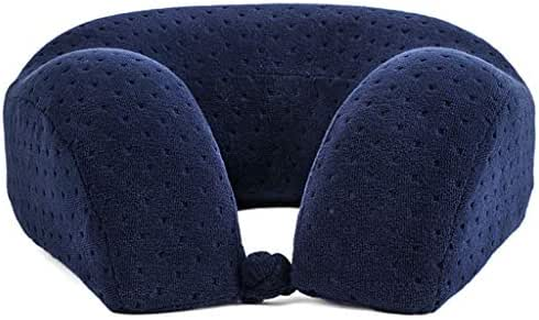 dftfwer Neck Pillow New U Shaped Memory Foam Neck Pillows Soft Slow Rebound Space Travel Pillow Solid Neck Cervical Healthcare Bedding