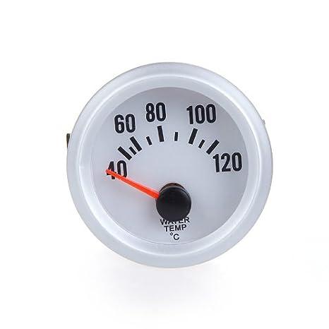 KKmoon Termómetro Medidor de Temperatura Agua Calibrador con Sensor y LED Luz para Coche Auto.: Amazon.es: Coche y moto