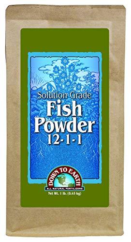 - Down to Earth Fish Powder 12-1-1, 1 lb