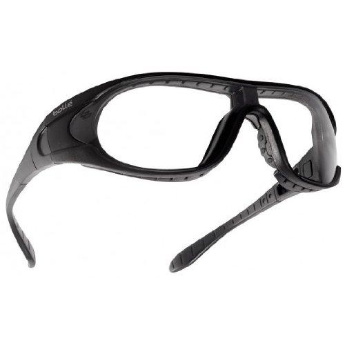 Bolle Raider Ballistic Spectacles - Clear, Smoke, Yellow Lens Black Frame
