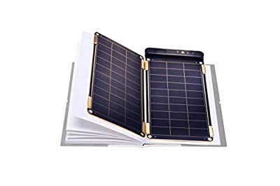 Solar Paper + Pouch, Paper-thin and Light Portable Solar Charger with Ultra-High-Efficiency