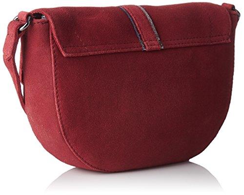 Petite Mendigote Tiago - Bolsos bandolera Mujer Rojo (Tanin)