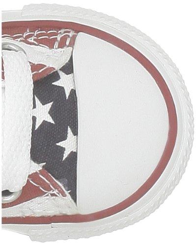 Bianco Hi Sneaker blanc Unisex Bars weiß 3 Stars Bambini 21 rouge Converse bleu 020820 amp; v0wZqxtp