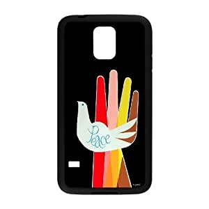 James-Bagg Phone case White dove pattern For Samsung Galaxy S5 FHYY389500