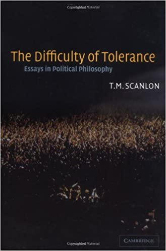 com the difficulty of tolerance essays in political  the difficulty of tolerance essays in political philosophy