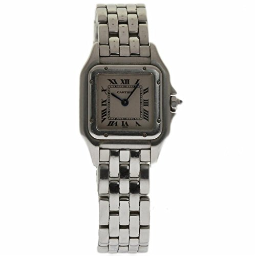Cartier Panthere swiss-quartz womens Watch W25033P5 (Certified Pre-owned)