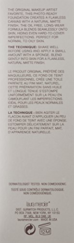 Laura Mercier Silk Creme Oil-free Photo Edition for WoMen, Foundation, Ecru, 1 Ounce