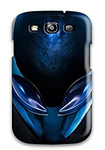 Defender Case For Galaxy S3, Beautiful Blue Alienware Pattern