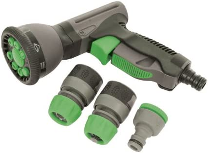 Silverline Soft-Grip pistola Quick Connect Set 829557