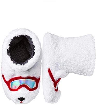 TARGET Polar Bear Slippers Kids Size
