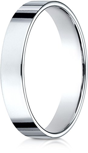 White Gold Benchmark Wedding Ring - 2