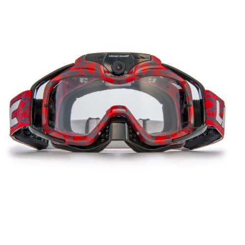 Liquid Image Video (Liquid Image Torque Red Video Snow Goggles - One Size)