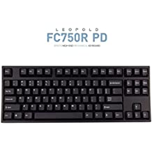 Leopold FC750R PD 87keys High-end Mechanical Keyboard MX cherry switch 1.5mm PBT (White, Brown Switch)