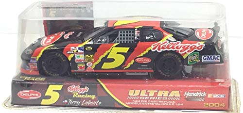 (2003 Terry Labonte #5 Kelloggs Nemo GMAC Chevrolet Monte Carlo Racing Champions 1:24)