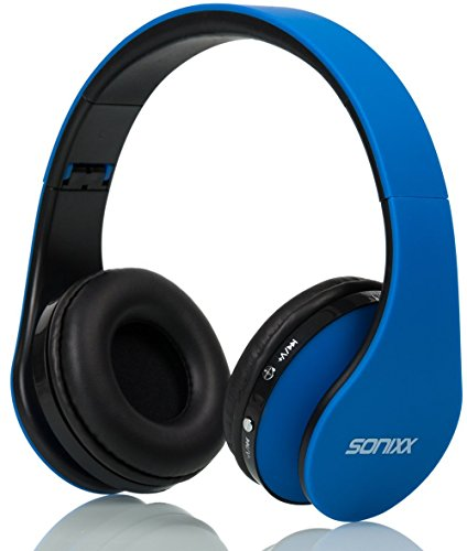 Sonixx BTX1 Kids Bluetooth Headphones (Blue)