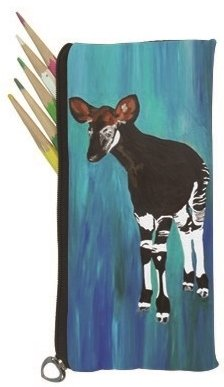 Salvador Kitti Small Pencil Bag (Okapi - New Hope)