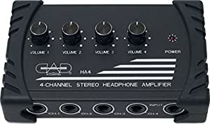 CAD Audio HA4 4-Channel Stereo Headphone Amplifier