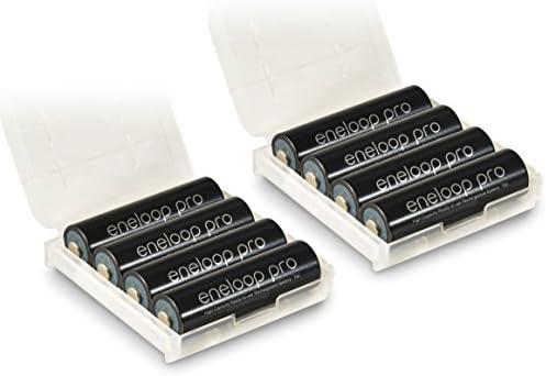 Panasonic eneloop PRO AA recargables 8 x – Incluye 2 x Caja: Amazon.es: Electrónica