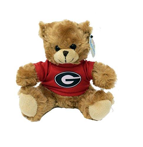 Plushland University Of Georgia Cuddling Teddy Bear-6 inches