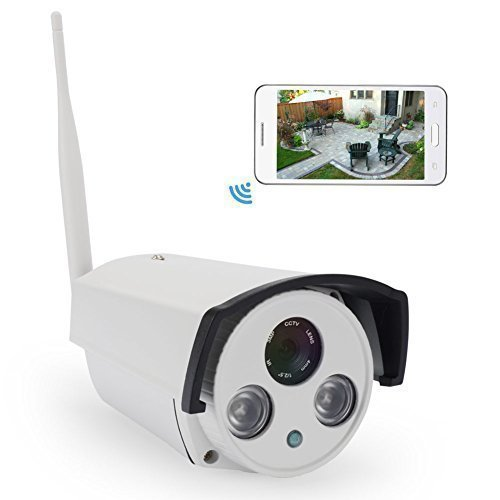 IdeaNext Wifi Camera 720P 16GB HD CCTV Wireless IP Network Camera Home Surveillance Indoor/ Outdoor Monitoring IR Bullet Security Camera HD for Iphone/Android Device/Tablet or PC [並行輸入品] B01KBR6HUI