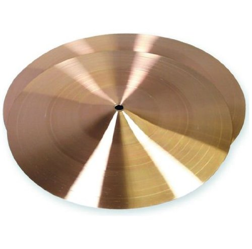 Nolan Gp Percussion 14'' Brass Cymbals by Nolan