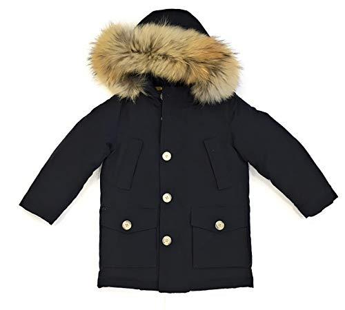 Dark Navy Inverno Blu Giubbotto Detachable Parka Wkcps2028 Bambino Woolrich 1aRIqfx