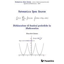 Dichiarazione di funzioni periodiche in Mathematica (Italian Edition)
