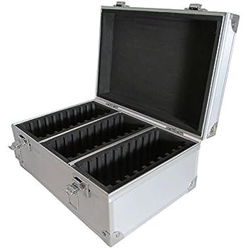 Aluminum Storage Box for 30 Universal Certified Slab Coins  sc 1 st  Amazon.com & Amazon.com: Aluminum Storage Box for 30 Universal Certified Slab ...