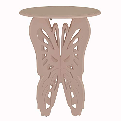 - Décor Therapy FR9467 Side, end Table, Night Stand, Pink