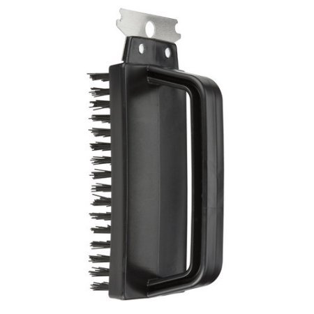 - Brush Stainless Steel Scraper With Polypropylene Handle