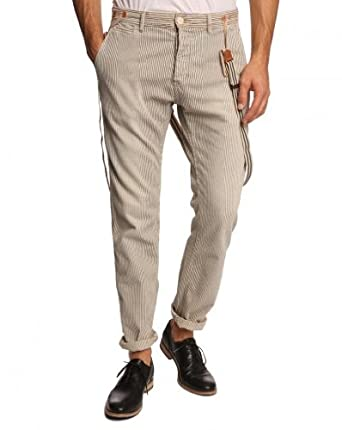 Jagger Scotch Pantalons Rayé And Bretelles Soda Homme Chino 8OPkn0w