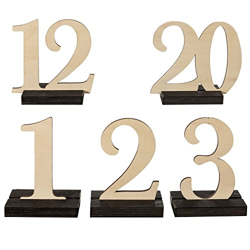 moment Numbers VINTAGE Catering Decoration