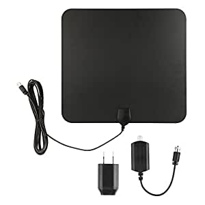 Blimark HDTV Indoor Antenna- 50 Miles Digital Long Range TV HD Antenna With Amplifier Signal Booster Upgraded Version Better Reception