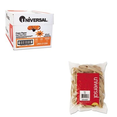KITUNV00464UNV21200 - Value Kit - Universal Rubber Bands (UNV00464) and Universal Copy Paper (UNV21200)
