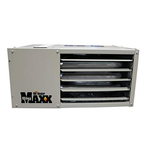 Convection Gas Heater - Mr. Heater F260550 Big Maxx MHU50NG Natural Gas Unit Heater