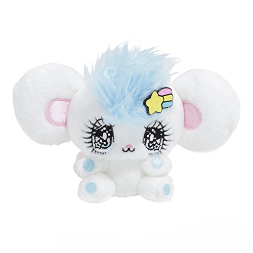 CLEVER IDIOTS INC Peropero Sparkles Plush Stuffed Animal - Cute, Collectible and Cuddly Toy Character - Ultra-Soft Polyester Fabric - Authentic Japanese Kawaii Design - Premium Quality (Melo ()
