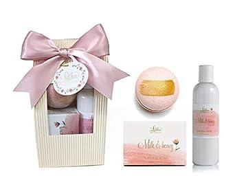 Amazon.com: Set de regalo para spa de baño para mujeres, en ...