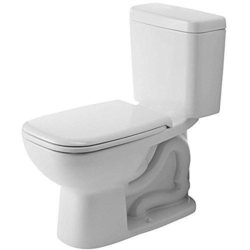Duravit Toilet Bowl - Duravit 0117010062 D-Code Elongated Toilet Bowl