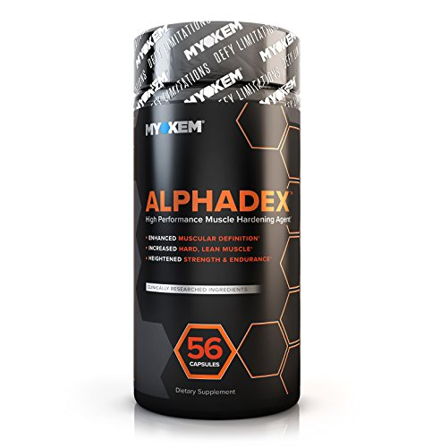 Alphadex Estrogen Blocker for Men | Innovative Aromatase Inhibitor, Anti Estrogen Fat Loss Hardening Agent and Testosterone Booster | Muscle Builder To Boost Performance, Energy, Stamina, 56 Servings. (Best Anabolic Steroids To Get Ripped)